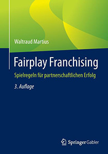 Buchcover Fairplay Franchising Waltraud Martius