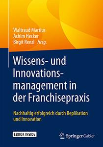 Buchcover Wissens- und Innovationsmanagement in der Franchisepraxis