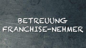Die Betreuung der Franchise-Nehmer Vortrag Syncon