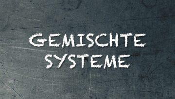 Gemischte Systeme im Franchising Vortrag Syncon