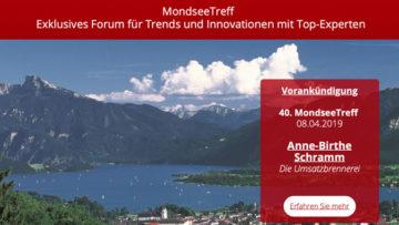40. Mondseetreff 2019 Helmut Muthers Institut mit Anne-Birthe Schramm
