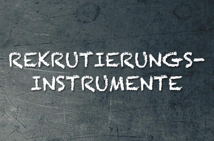Bild Rekrutierungsinstrumente im Franchising Syncon Erklärung