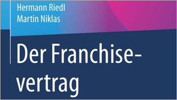 Buchtipp Martin Niklas Der Franchisevertrag