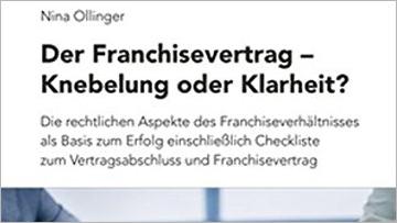 Buchtipp Nina Ollinger Der Franchisevertrag
