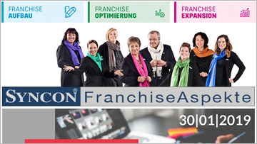 Franchise-Aspekte Syncon Newsletter 12/2018