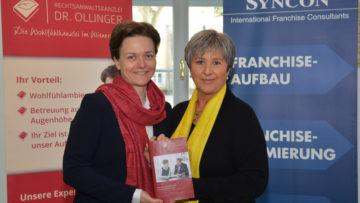 Nina Ollinger und Waltraud Martius Seminar Franchise-Aspekte